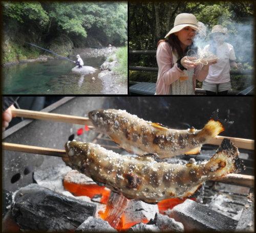 熊本 渓流釣り体験1