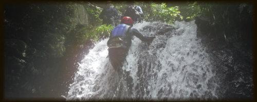 九州 熊本シャワークライミング 滝登り沢登り 写真3