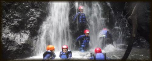 九州 熊本シャワークライミング 滝登り沢登り 写真4
